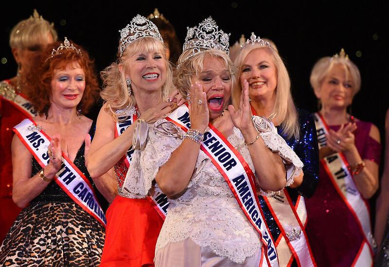 Конкурс красоты для женщин за 60 прошел в США