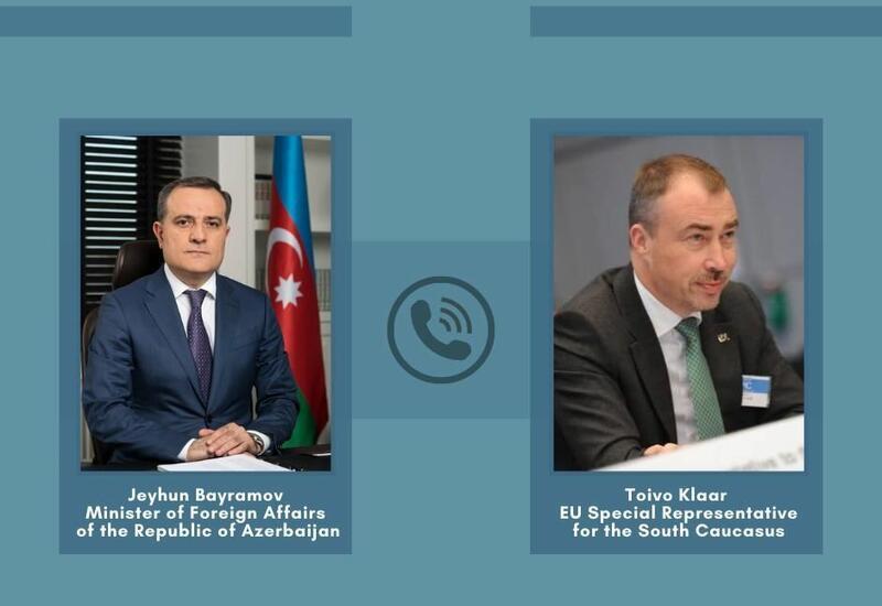 Глава МИД Азербайджана и спецпредставитель ЕС по Южному Кавказу обсудили текущую ситуации в регионе