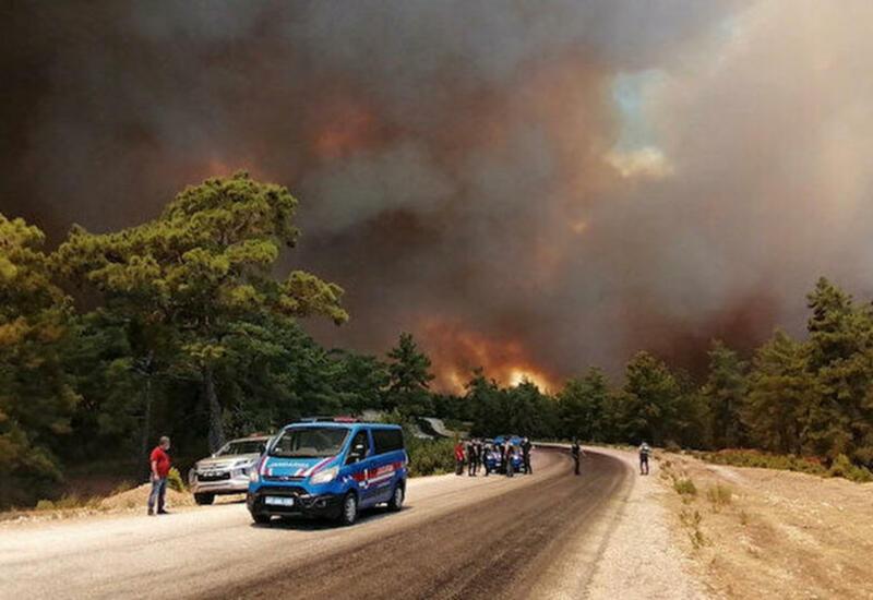 Как выглядит Анталья, где бушуют лесные пожары