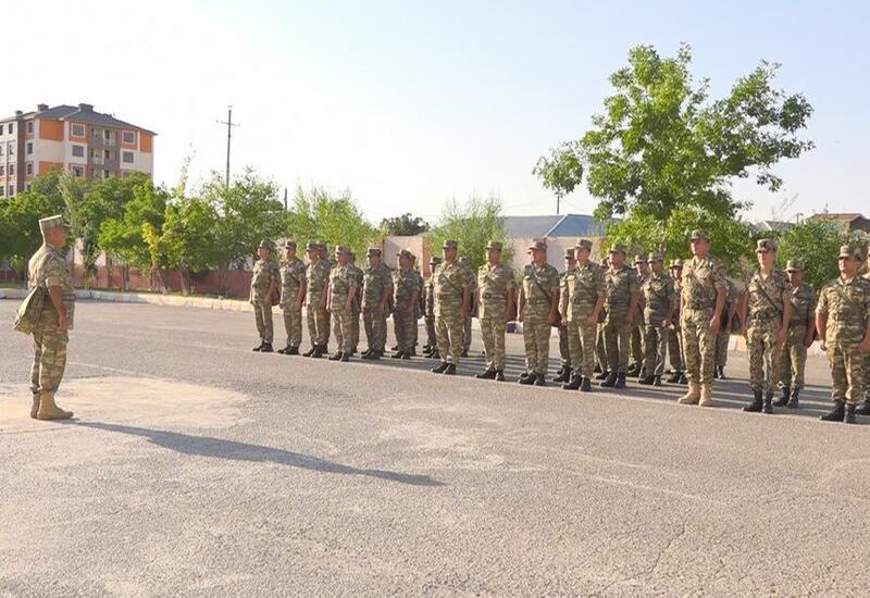 Военные сборы в Нахчыване