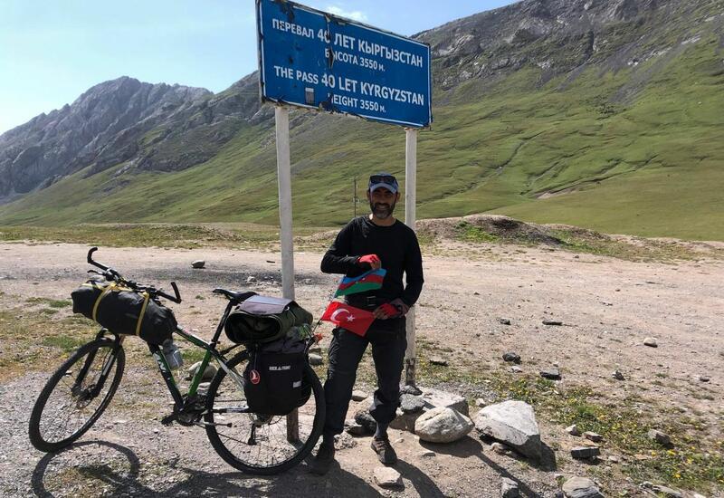 Азербайджанец  впервые в истории покоряет одну из высочайших вершин Центральной Азии