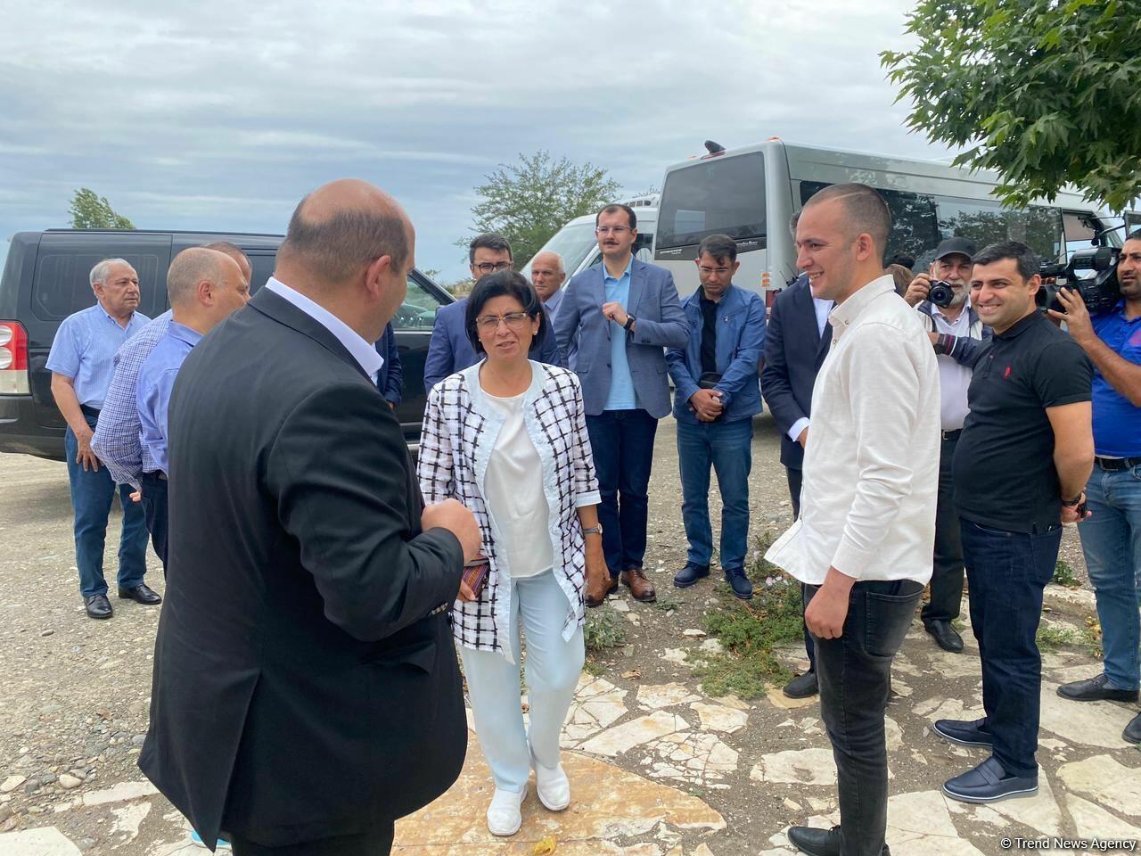 Начался визит представителей Межведомственного центра при Координационном штабе в Агдам