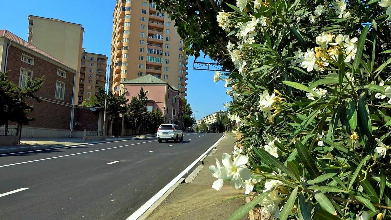 В Хатаинском районе Баку отремонтированы дороги