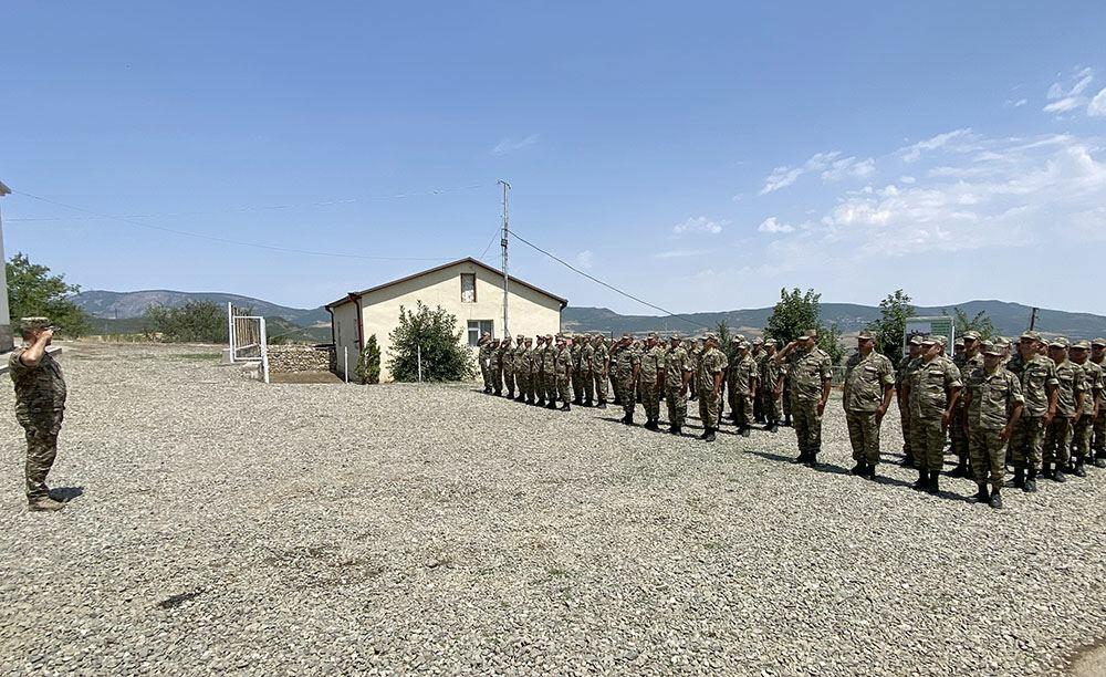 На территории Ходжалинского района открылась новая воинская часть