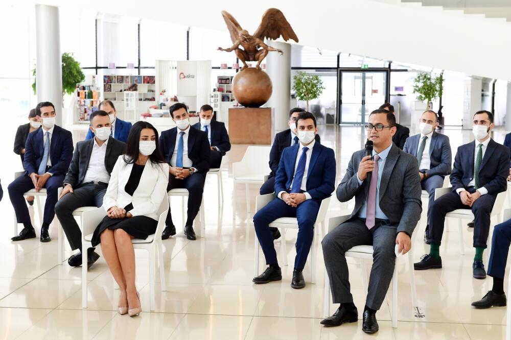 В Центре Гейдара Алиева прошла встреча с победителями конкурса Yüksəliş