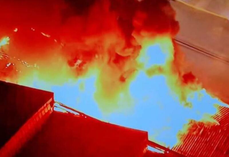 Пламя охватило главный киноархив Бразилии