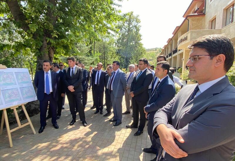 Представители Межведомственного центра при Координационном штабе находятся в Шуше
