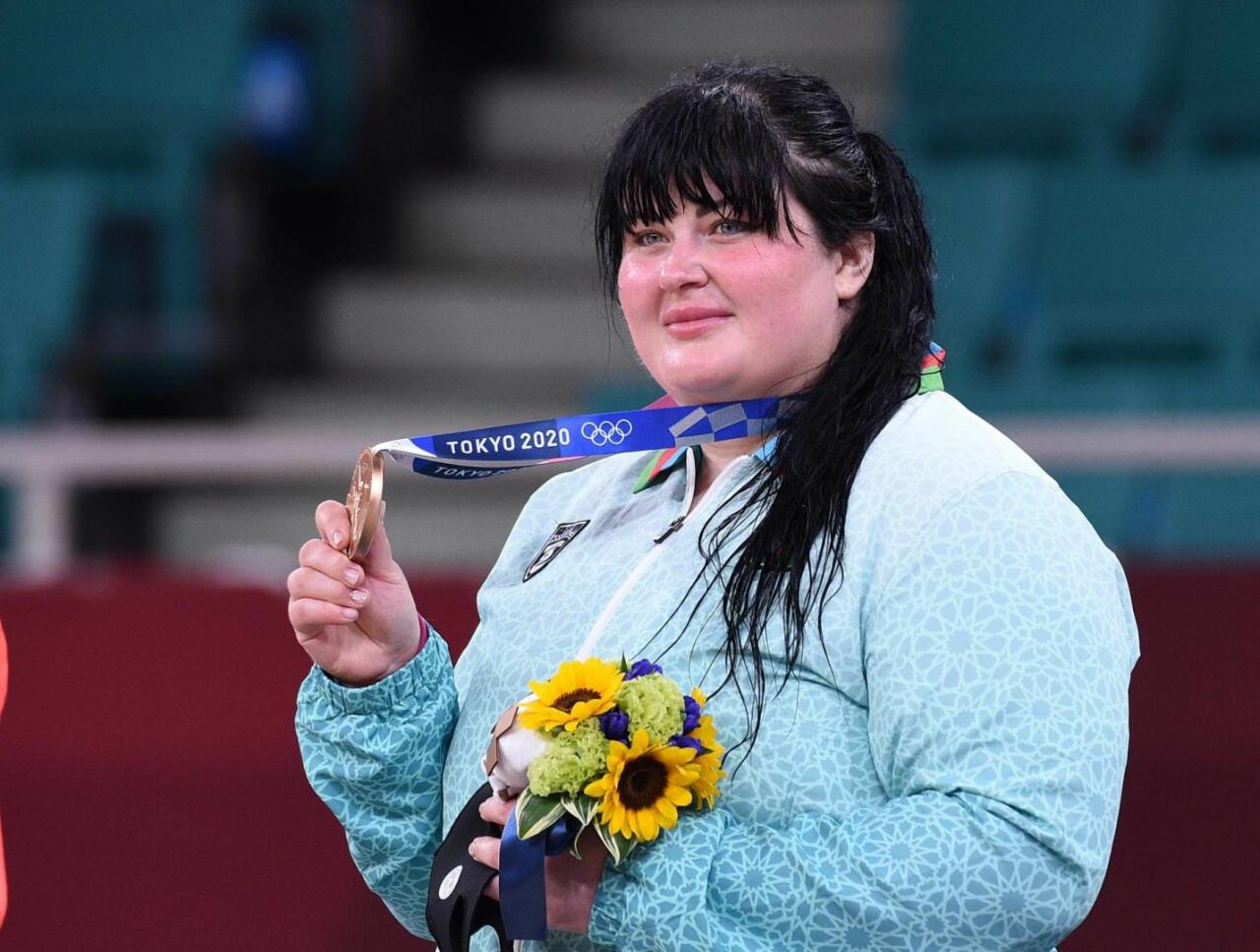 Лучший подарок на юбилей азербайджанской дзюдоистки на Олимпиаде в Токио