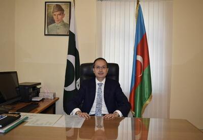 Пакистан всегда поддерживает Азербайджан - заявление посла