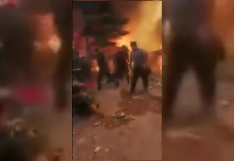 Азербайджанские пожарные бригады проявили героизм в Турции