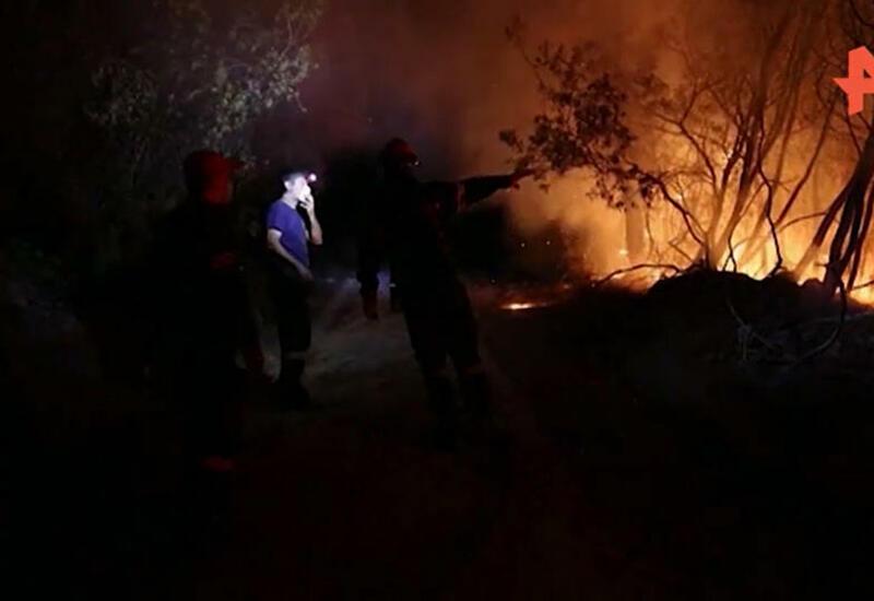 Жителей поселка под Мармарисом эвакуируют из-за пожара