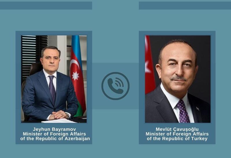 Состоялся телефонный разговор между главами МИД Азербайджана и Турции