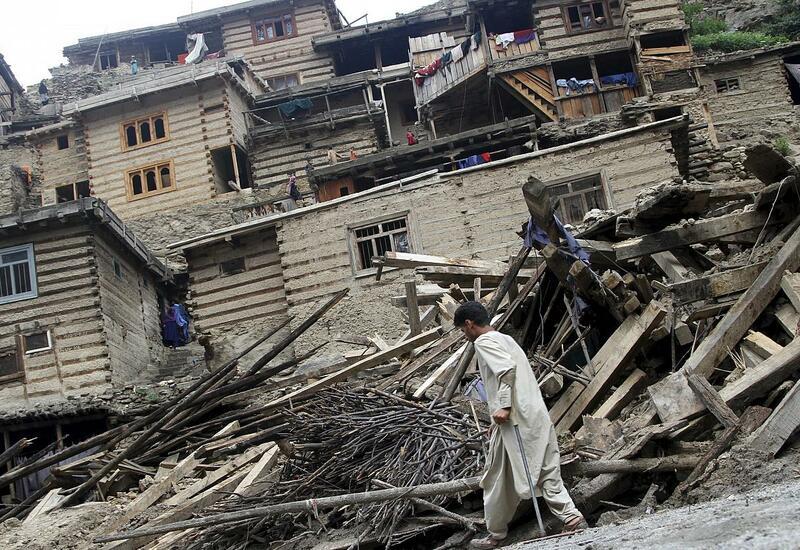 Наводнения в Афганистане, десятки погибших