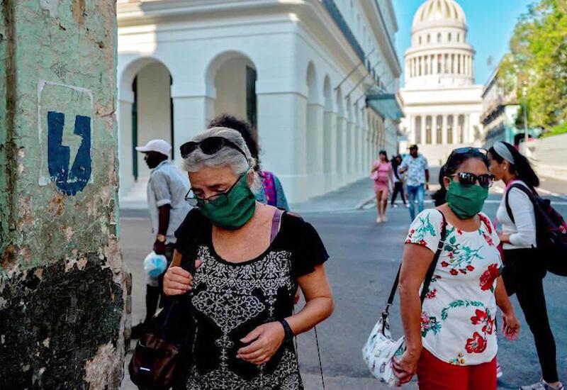 Число заражений коронавирусом на Кубе за сутки впервые превысило 9,7 тыс.