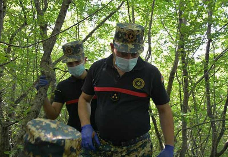 В Физули обнаружены останки еще 4 армянских военнослужащих