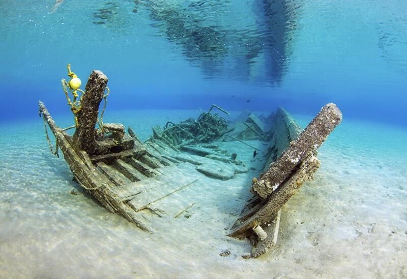 В Средиземном море обнаружили затонувший древнеримский корабль