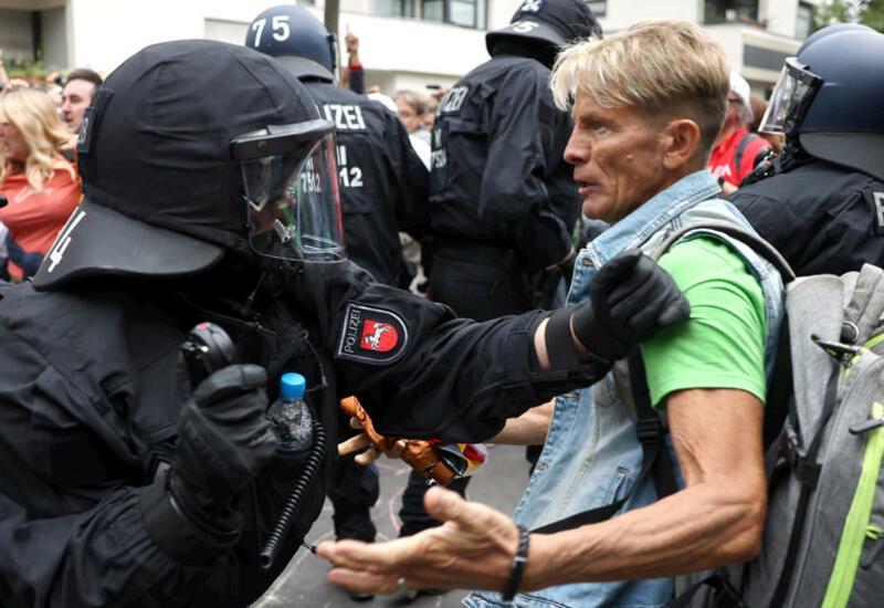 Мужчина скончался в Берлине после акции протеста