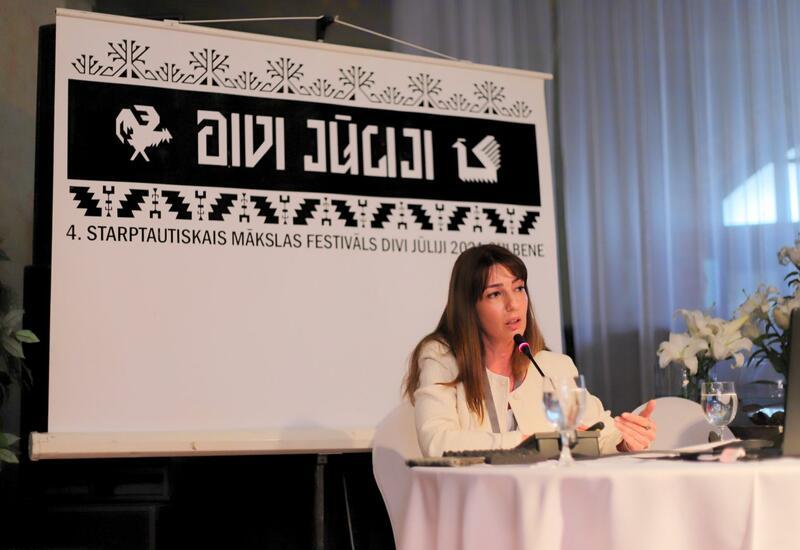 Об азербайджанских коврах рассказали в Латвии