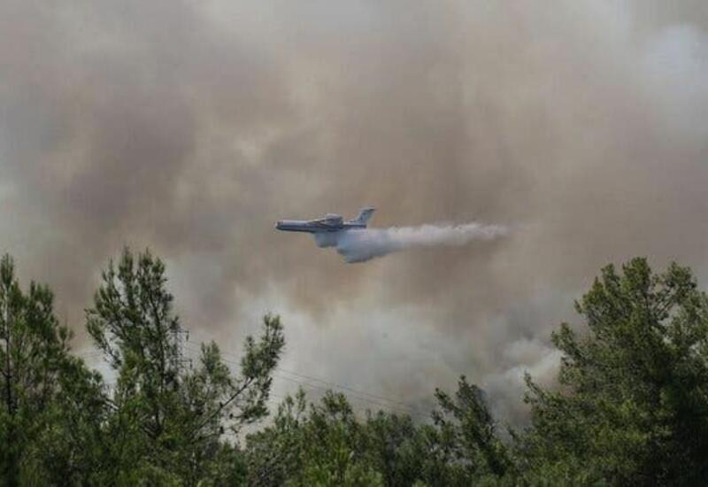 ЕС направит три пожарных самолета для оказания помощи Турции