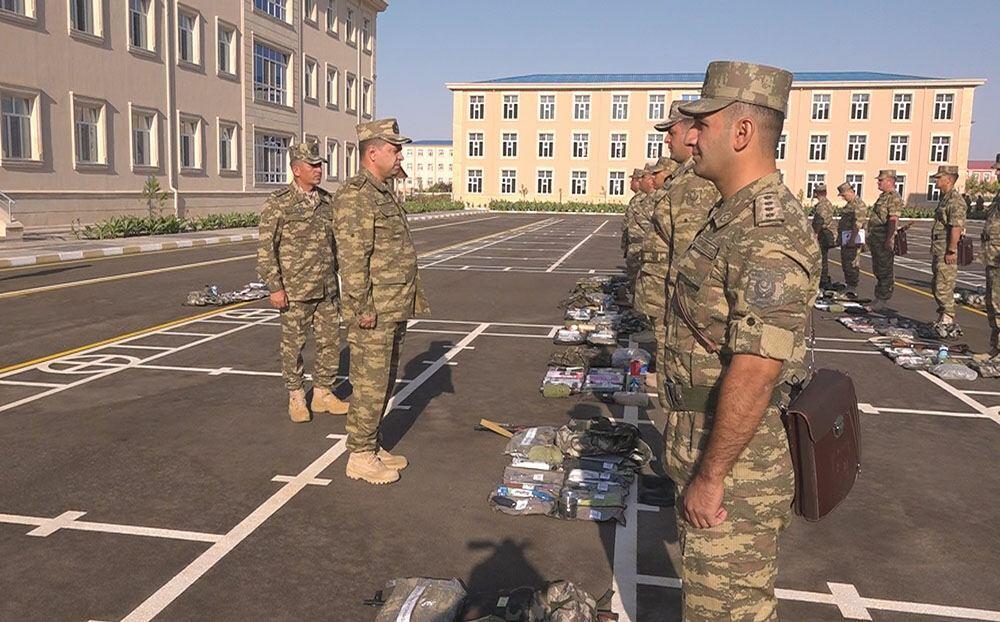 В войсках Нахчыванского гарнизона начался новый учебный период