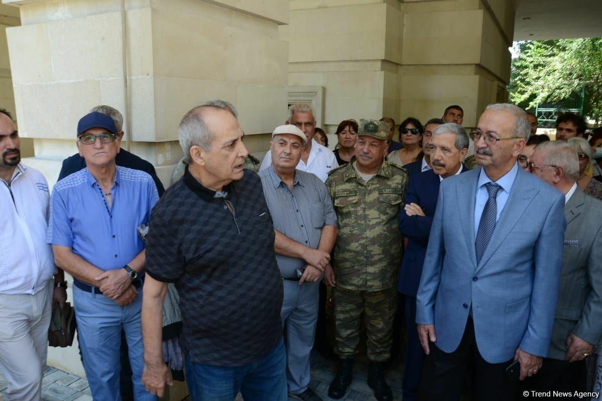 В Баку состоялось открытие барельефа на доме, где жила народная артистка Амалия Панахова