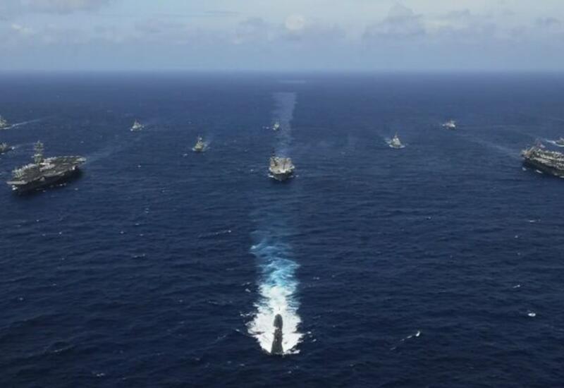 США начинают крупнейшие военно-морские учения со времен холодной войны