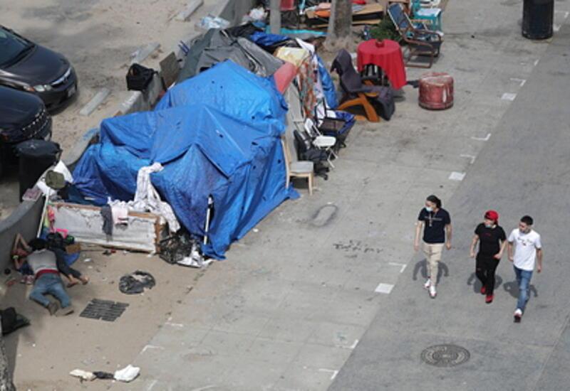 Американские улицы зачистят от бомжей