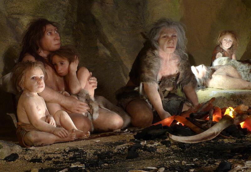 Красные полосы в испанской пещере оказались рисунками неандертальцев