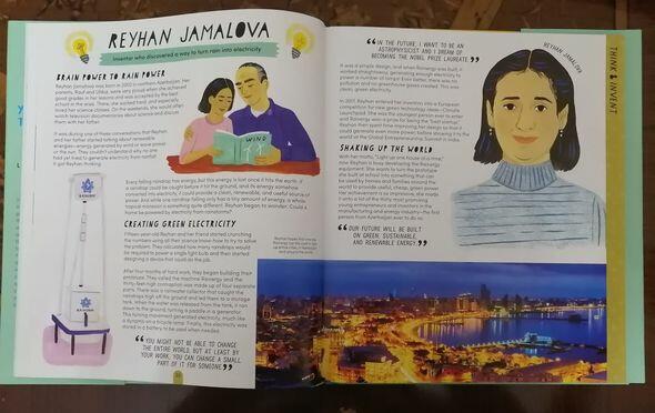 Азербайджанка попала в книгу о юных изобретателях