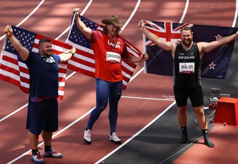 Впервые на Олимпийских играх сохранился пьедестал