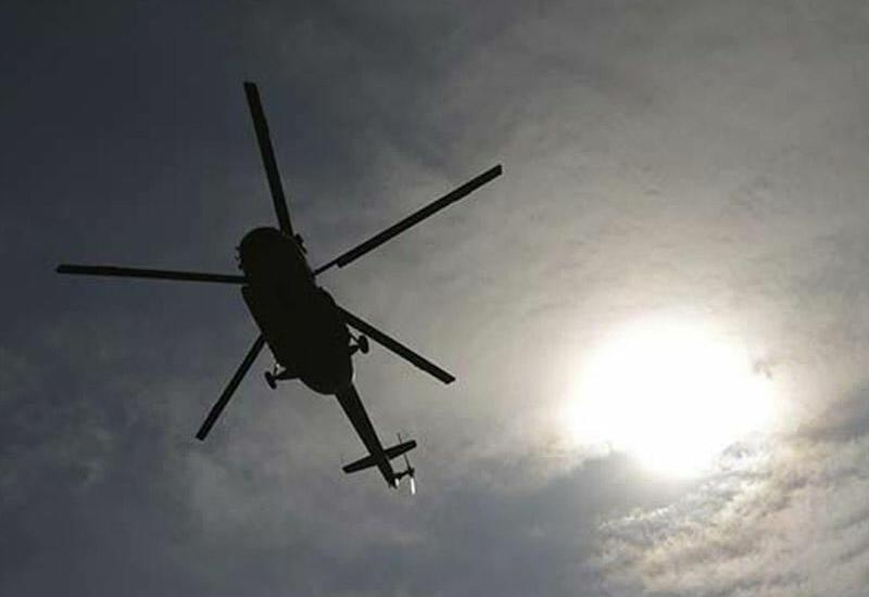 В Таджикистане разбился спасательный вертолет