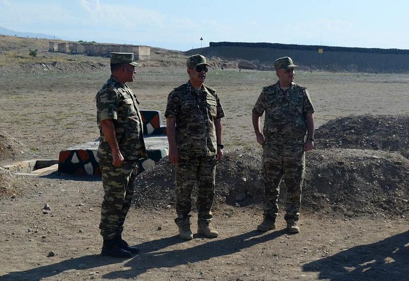 В Азербайджане введены в эксплуатацию несколько объектов командования Сухопутными войсками