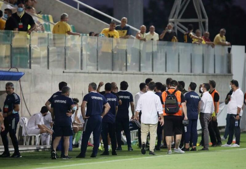 Кипрские фанаты устроили беспорядки на матче АЕЛ-Карабах
