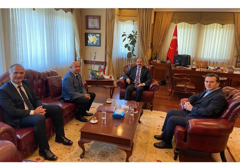Руководство АМИ Trend встретилось с послом Турции в Азербайджане