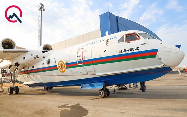Азербайджан отправил в Турцию самолет-амфибию