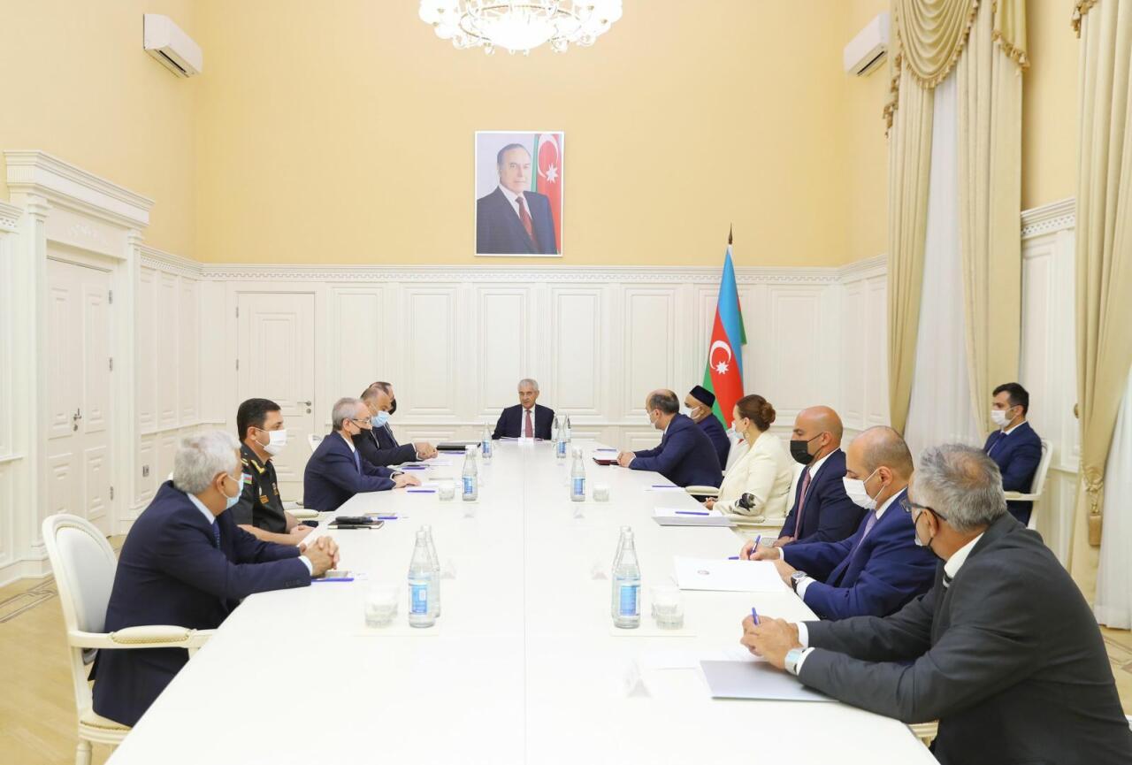 Первое заседание Комиссии Азербайджана по «Конвенции о защите культурных ценностей в случае вооружённого конфликта»
