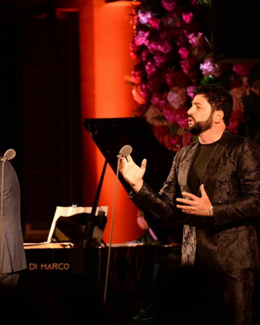 Народный артист Азербайджана спел вместе с Андреа Бочелли