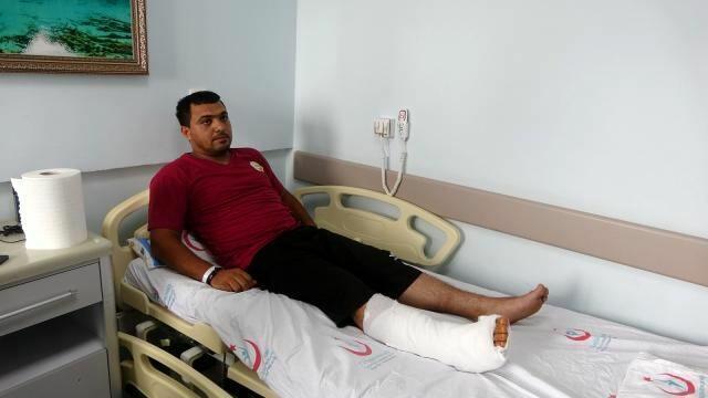 Стало известно о состоянии здоровья пожарного, прооперированного в Турции