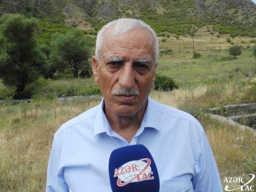 Вынужденные переселенцы, признанные потерпевшими по делу «Чирагов и другие против Армении», посетили Лачинский район