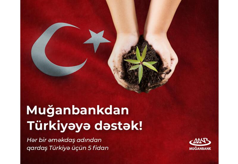 Muğanbankdan Türkiyəyə dəstək (R)