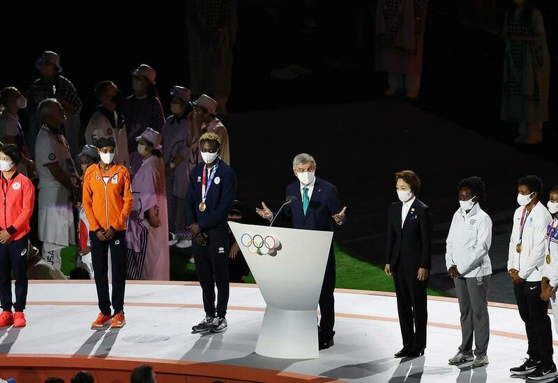 Президент МОК Томас Бах объявил Олимпийские игры в Токио закрытыми