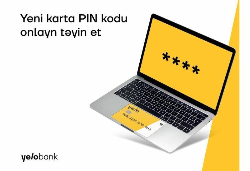 Установите пароль карты онлайн с помощью новой услуги Yelo Bank