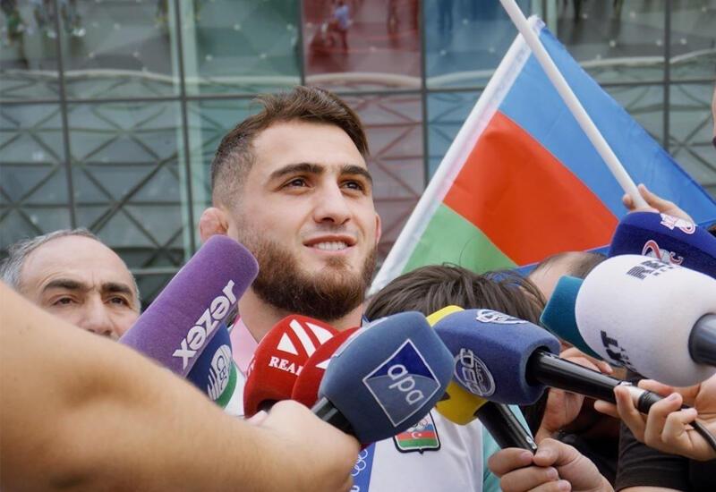 Азербайджанские спортсмены, участвовавшие на Олимпиаде, вернулись в Баку