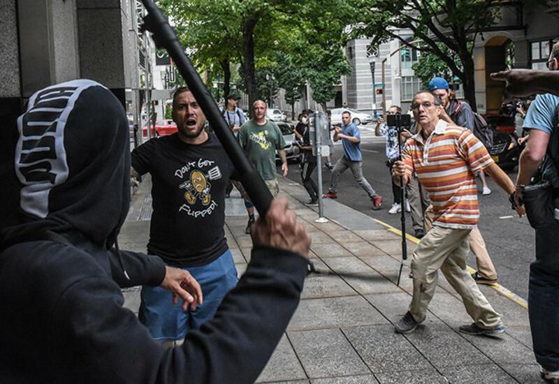 Стрельба между радикалами в США, есть задержанные