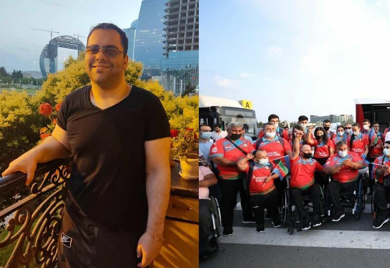 Мурад Садых поддержал азербайджанских паралимпийцев в Токио