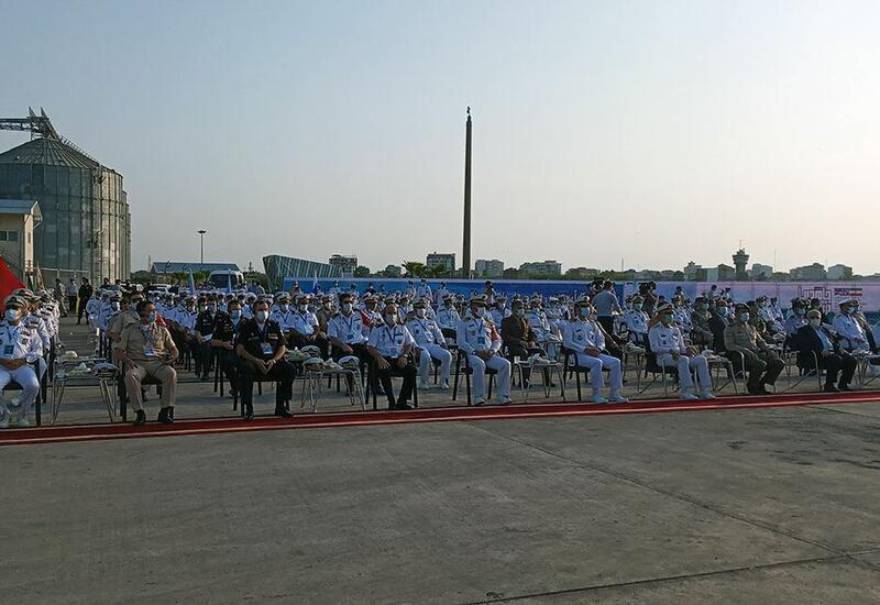 В Иране состоялась торжественная церемония открытия конкурса «Кубок моря»