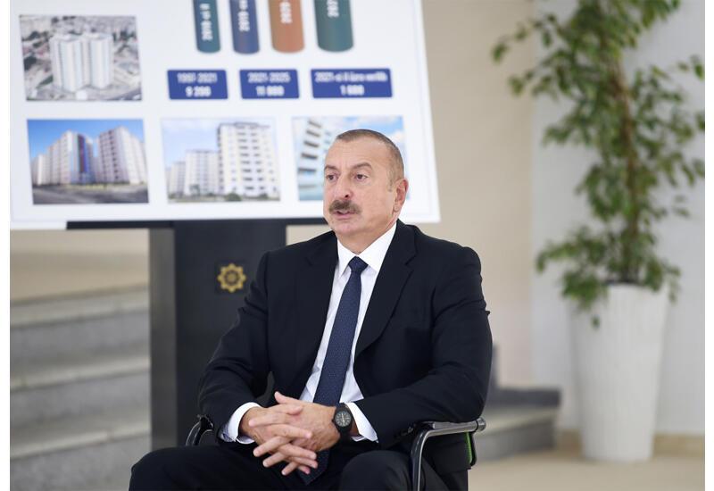 Президент Ильхам Алиев: Советская власть отделила Зангезур, являющийся нашей исторической землей, от Азербайджана и присоединила его к Армении