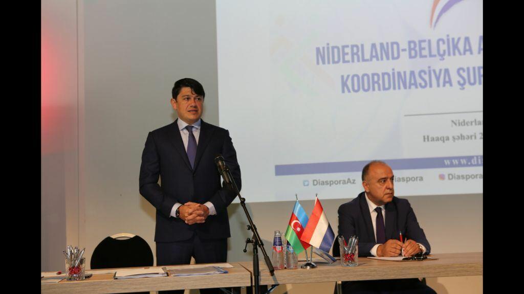 Niderland-Belçika Azərbaycanlıları Koordinasiya Şurasının üzvləri ilə görüş olub