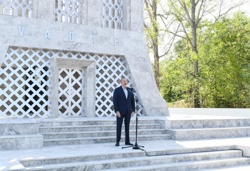 Президент Азербайджана: В следующем году мы торжественно отметим 270-ю годовщину города Шуша