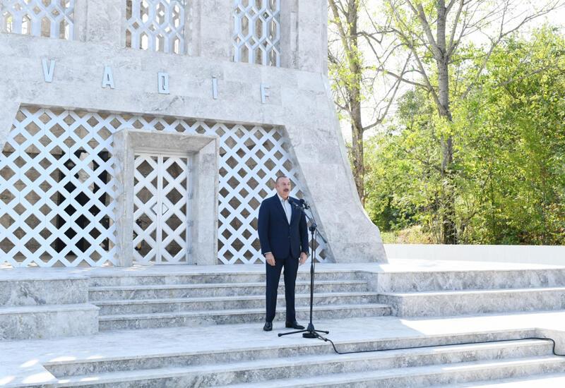 Президент Ильхам Алиев: Шуша ждала нас, мы должны были прийти и мы пришли